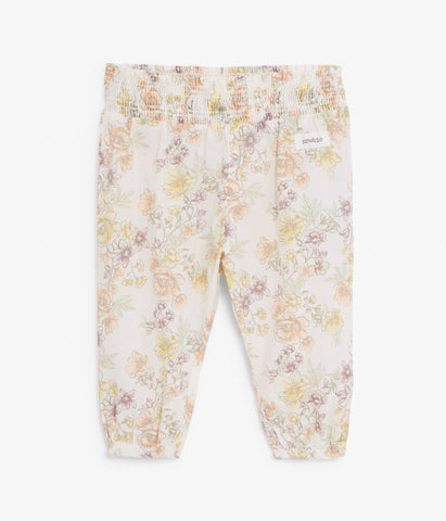 Baby floral print trousers