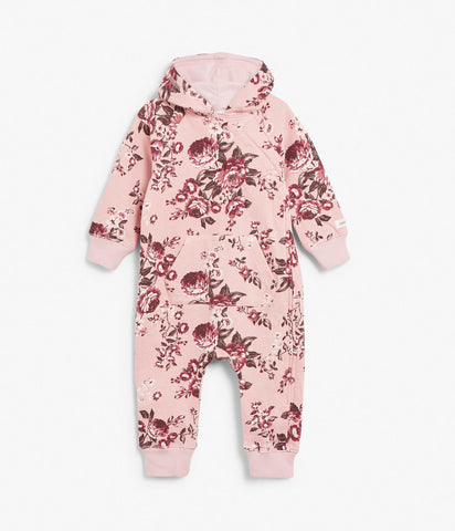 Onesie with floral pattern
