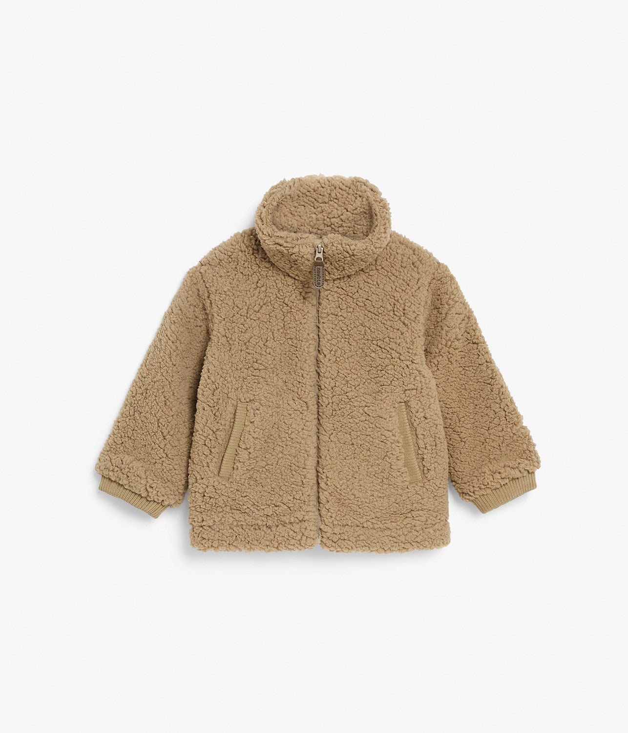 Baby brown teddy jacket