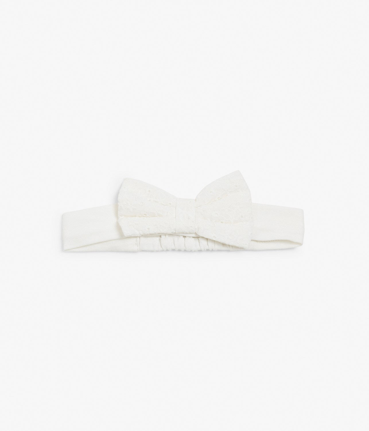 Headband with lace bow