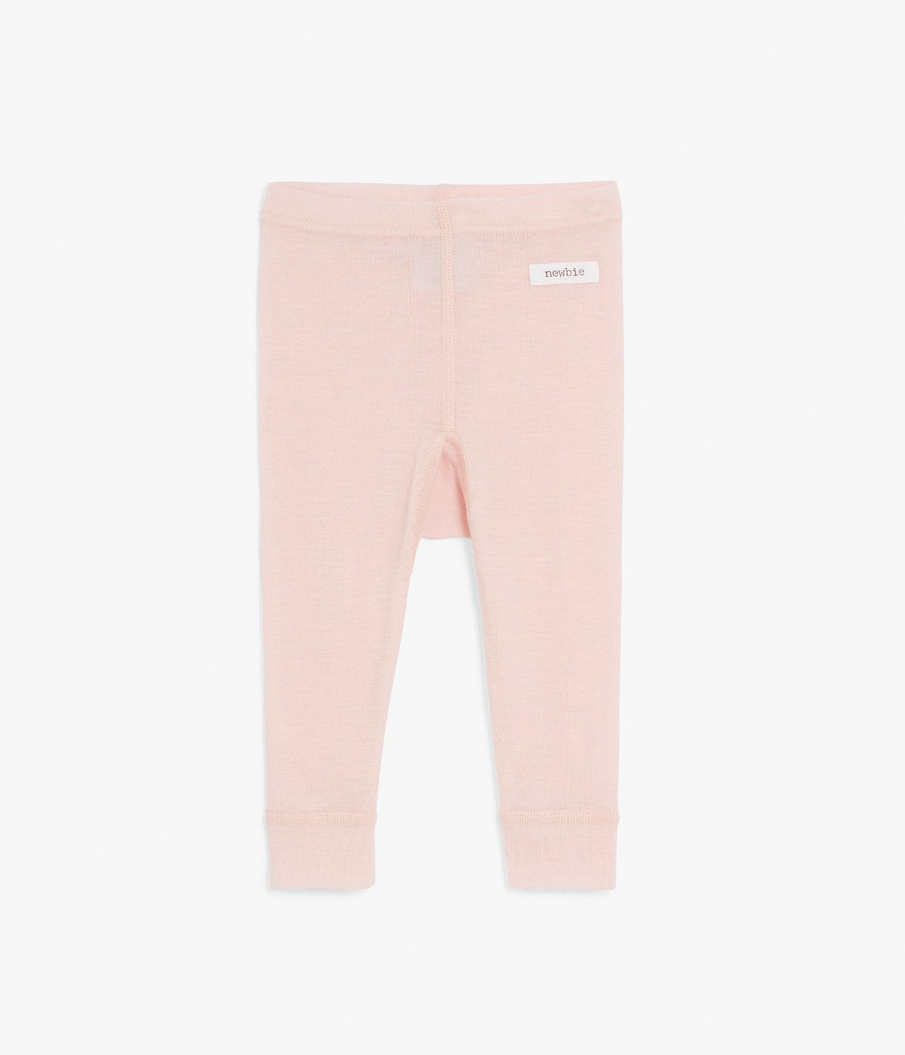 Pink thermal wool leggings