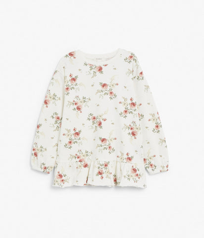 Kids floral sweatshirt