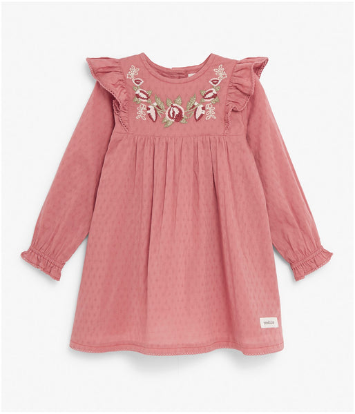 bd1ee26bd Baby dress in floral embroidery. Quick Shop