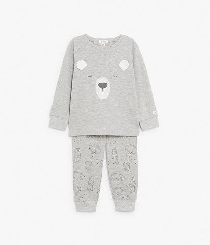 Bear face pyjama set
