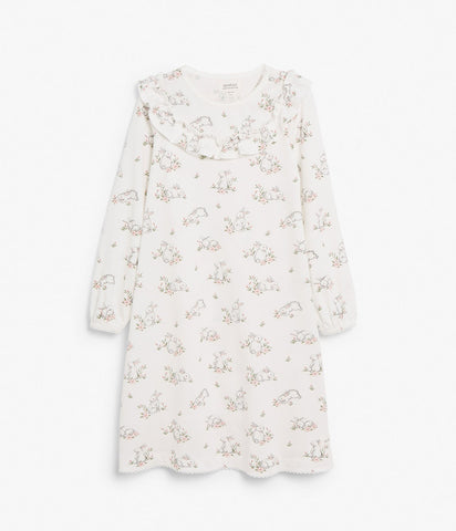Kids Limited bunny print nightgown