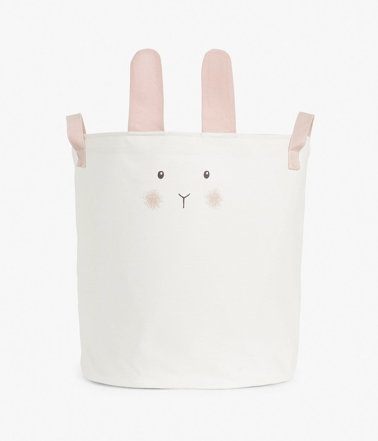 Bunny rabbit fabric basket