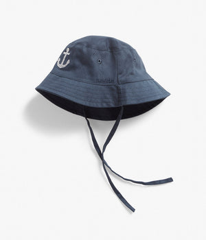 Baby anchor bucket hat