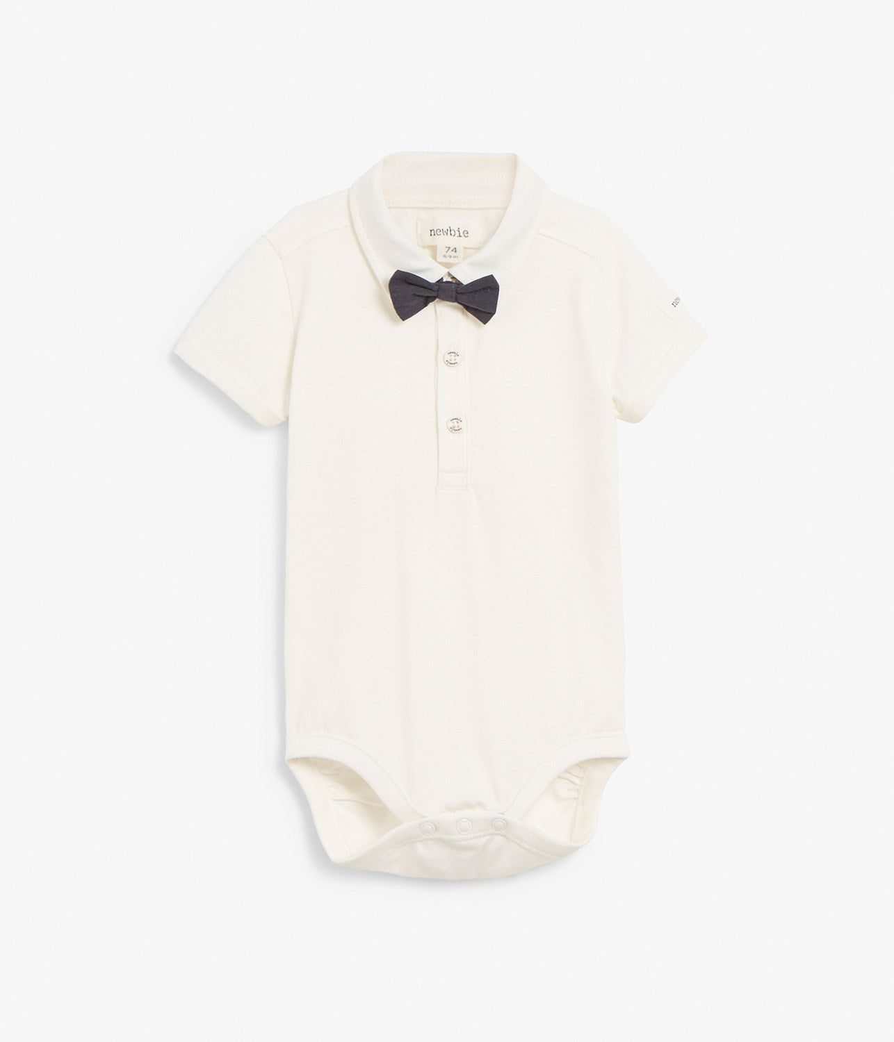 Baby body with bow tie