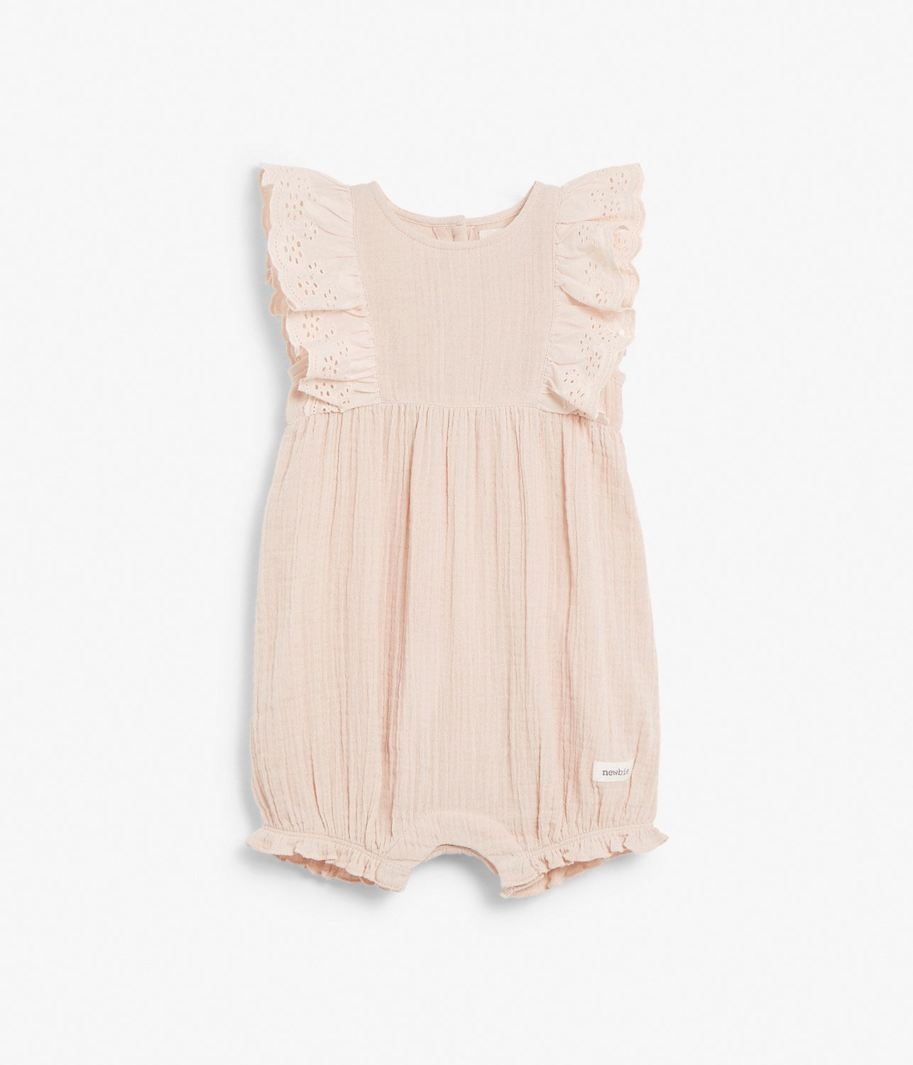 Baby jumpsuit with frills