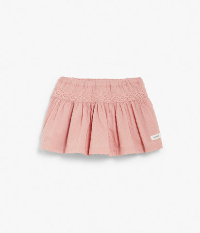 Kids skirt with lace