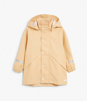 Kids rain jacket with hood