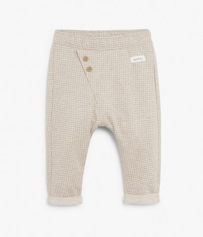 Baby soft plaid trousers