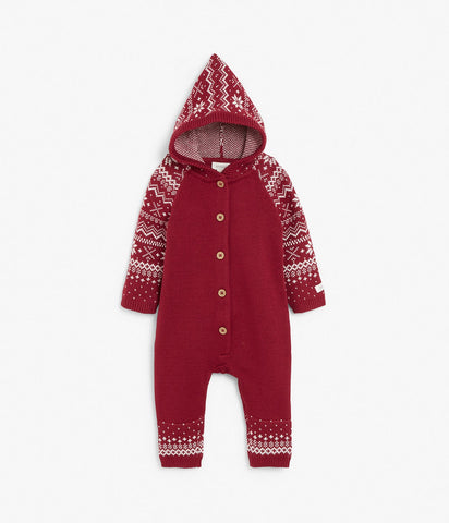 Christmas knitted onesie