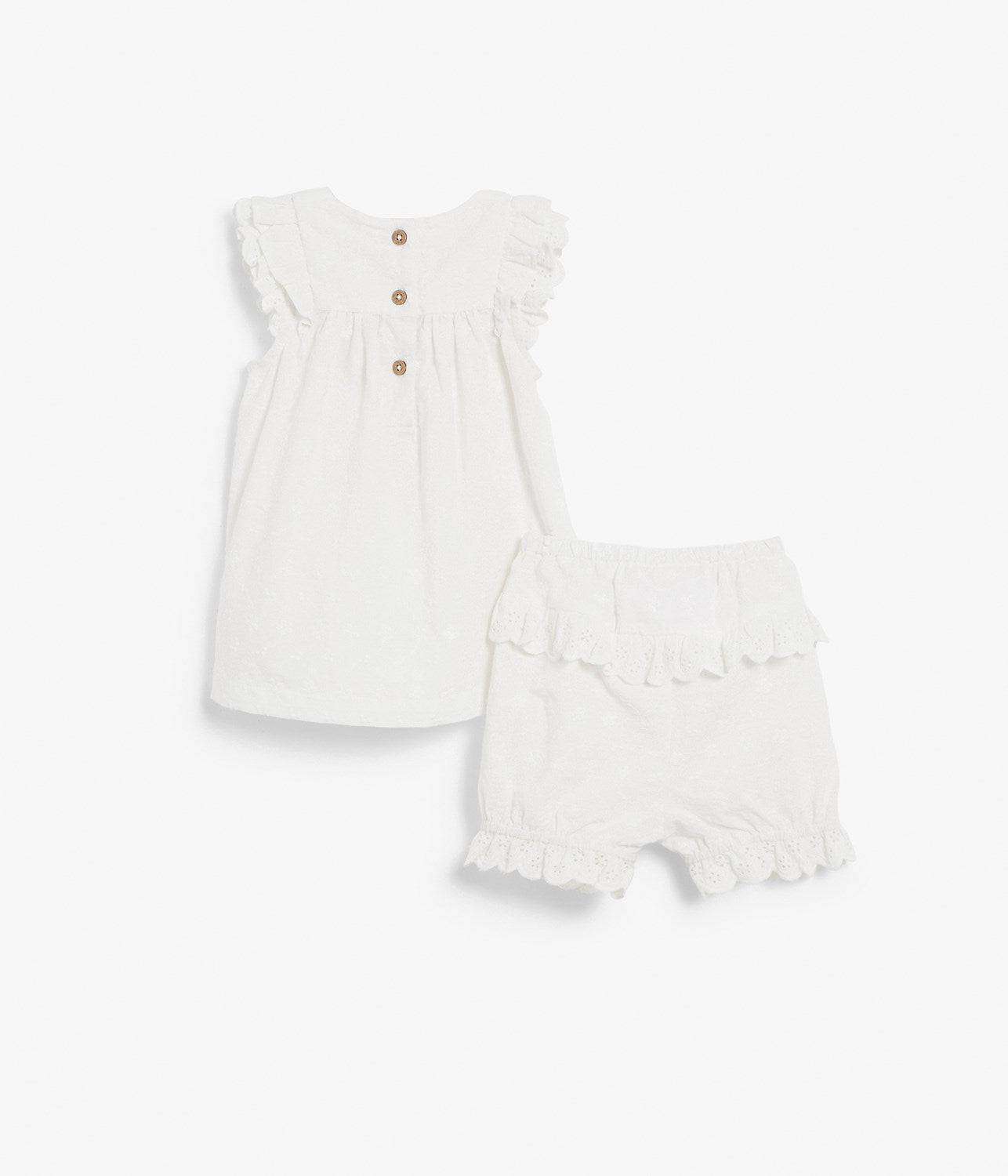 Baby dress with bloomers