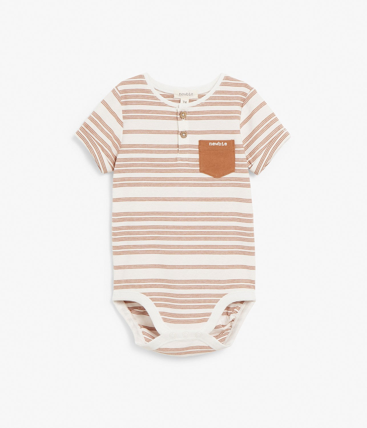 Baby brown striped body