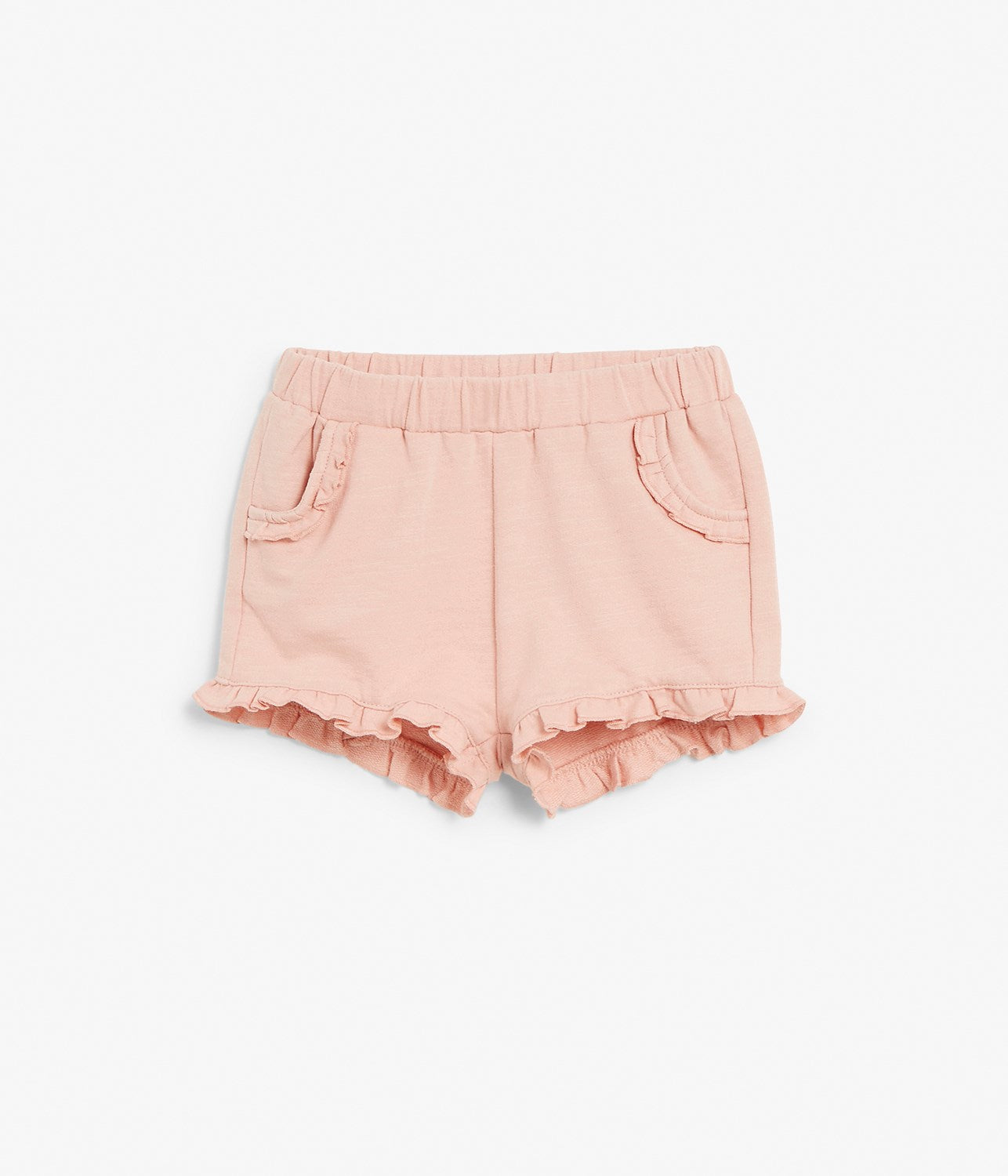 Baby shorts with ruffles