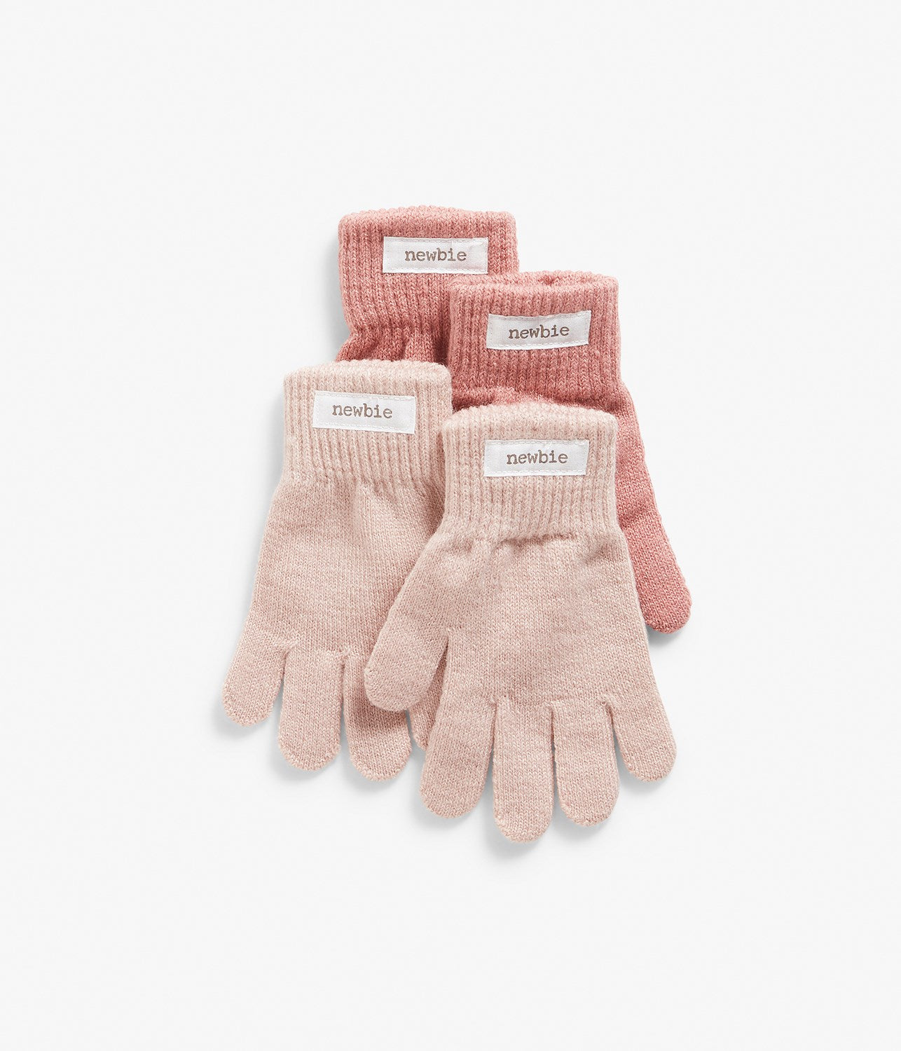 Kids pink gloves 2-pack