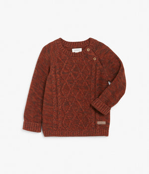 Baby cable knit jumper