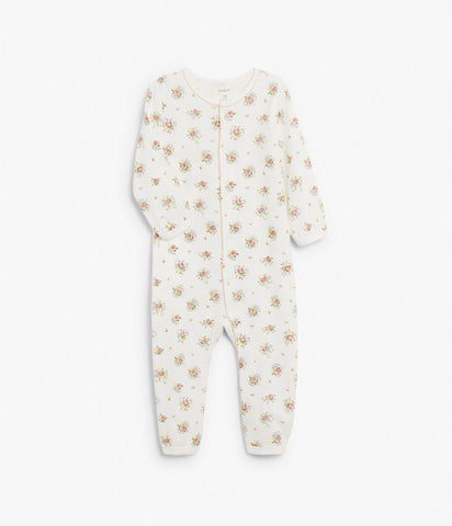 Baby floral sleepsuit