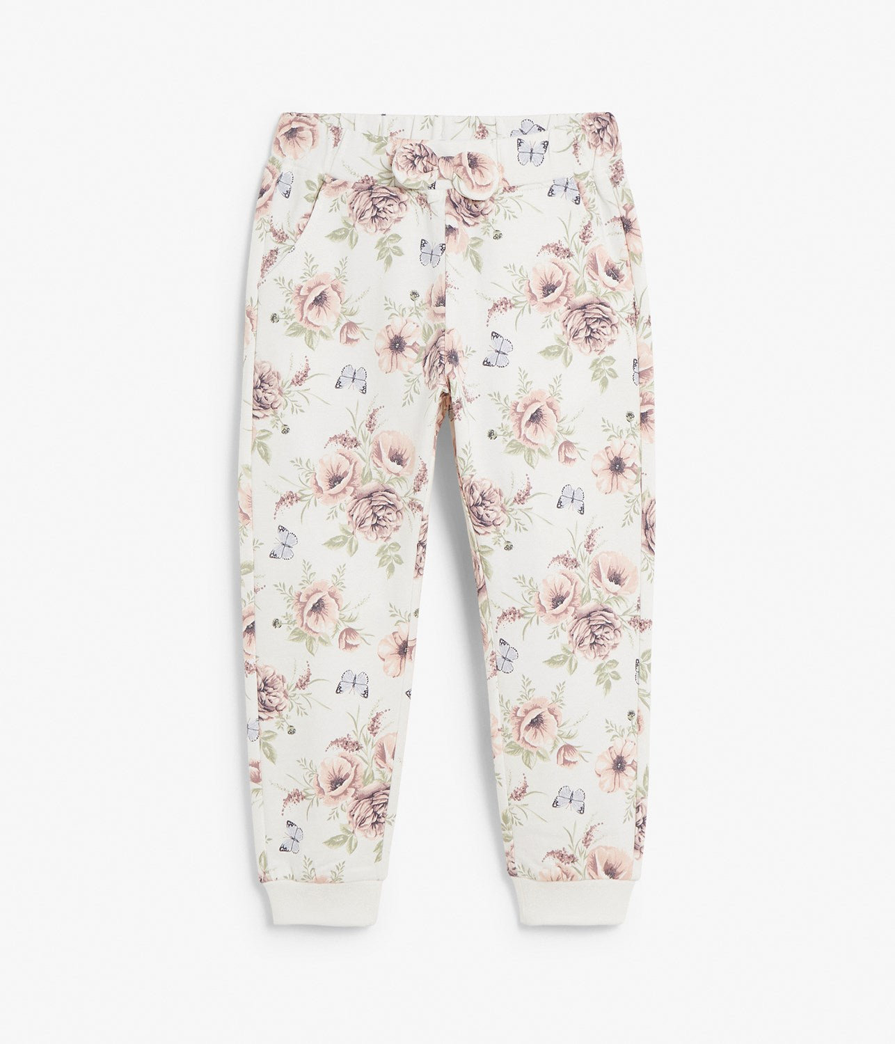 Kids floral print sweatpants