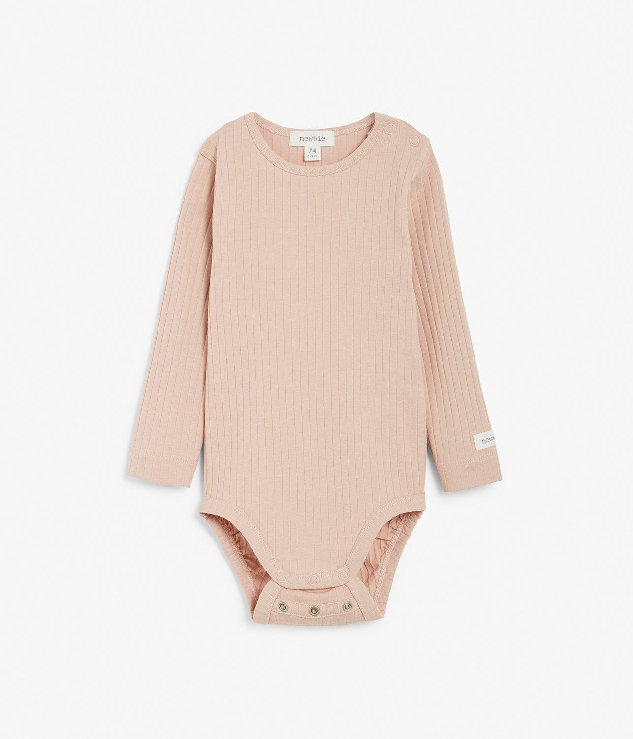 Baby pink ribbed body with size extender