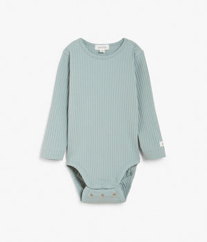 Baby blue ribbed body with size extender