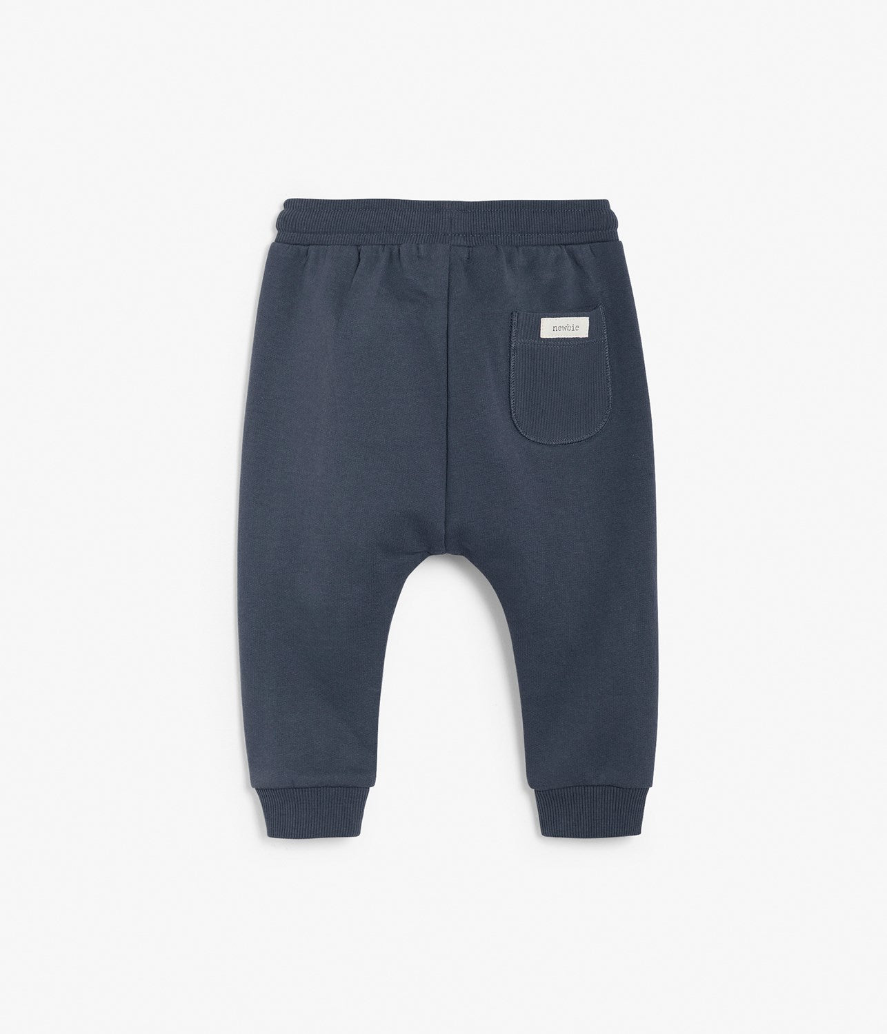 Baby navy drawstring sweatpants