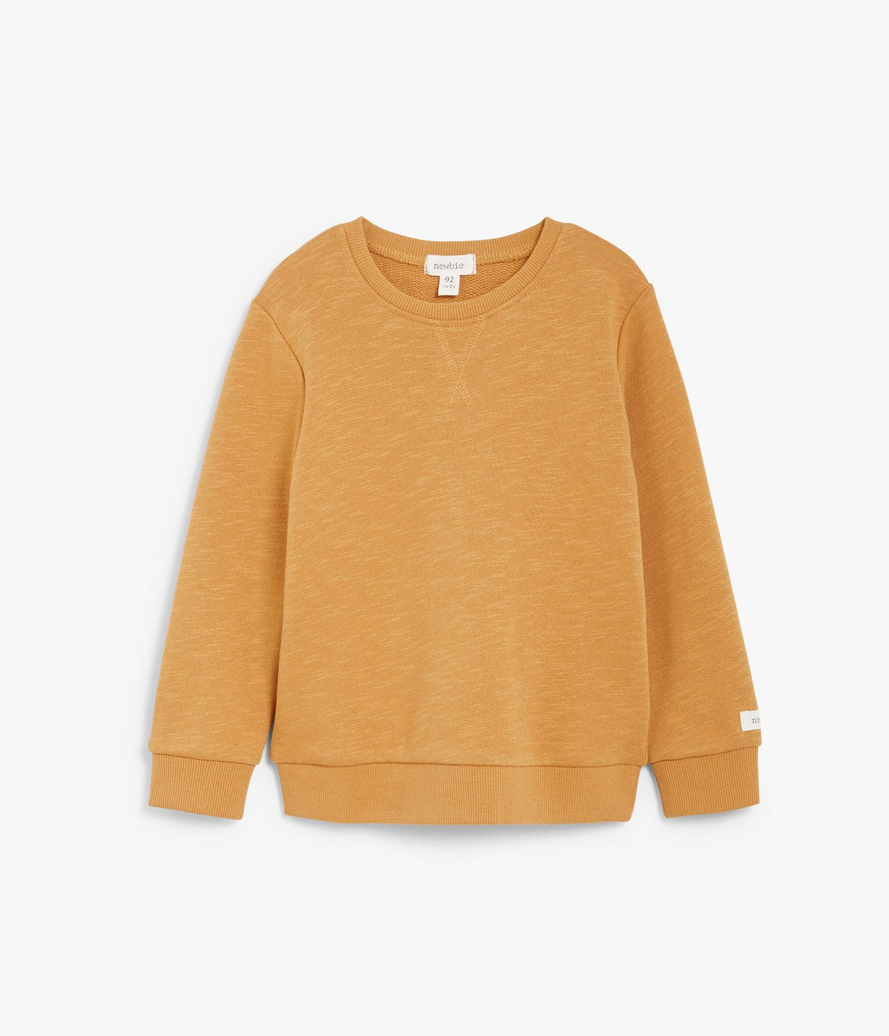 Kids yellow basic jumper