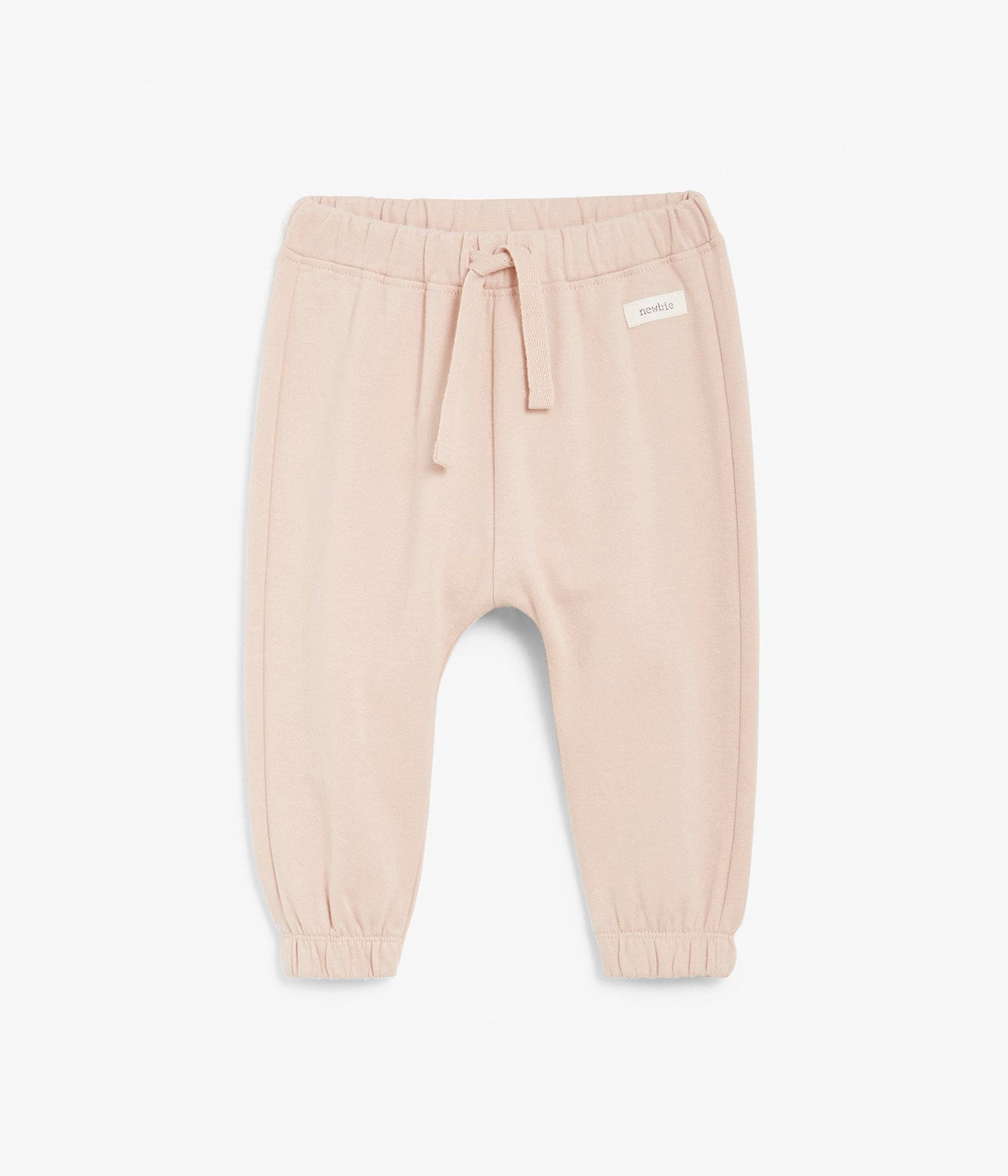 Baby pink sweatpants with deer face