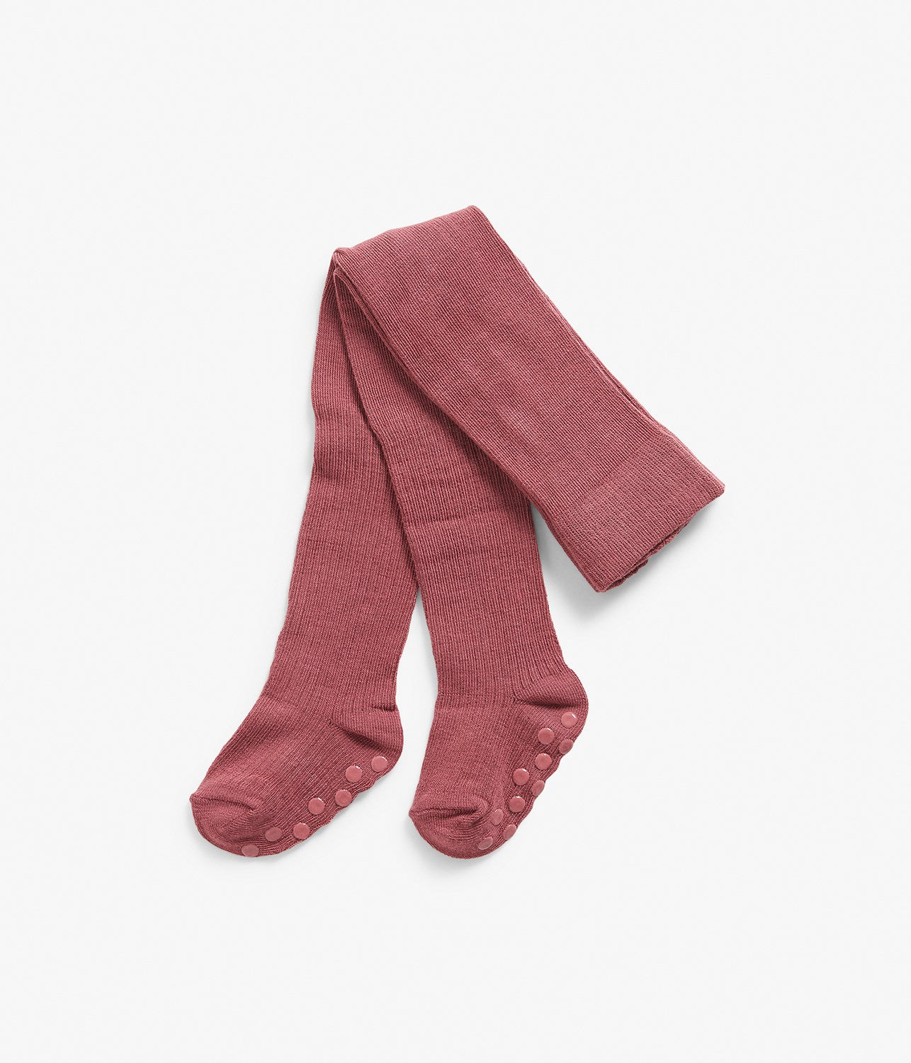 Baby ribbed rose long socks