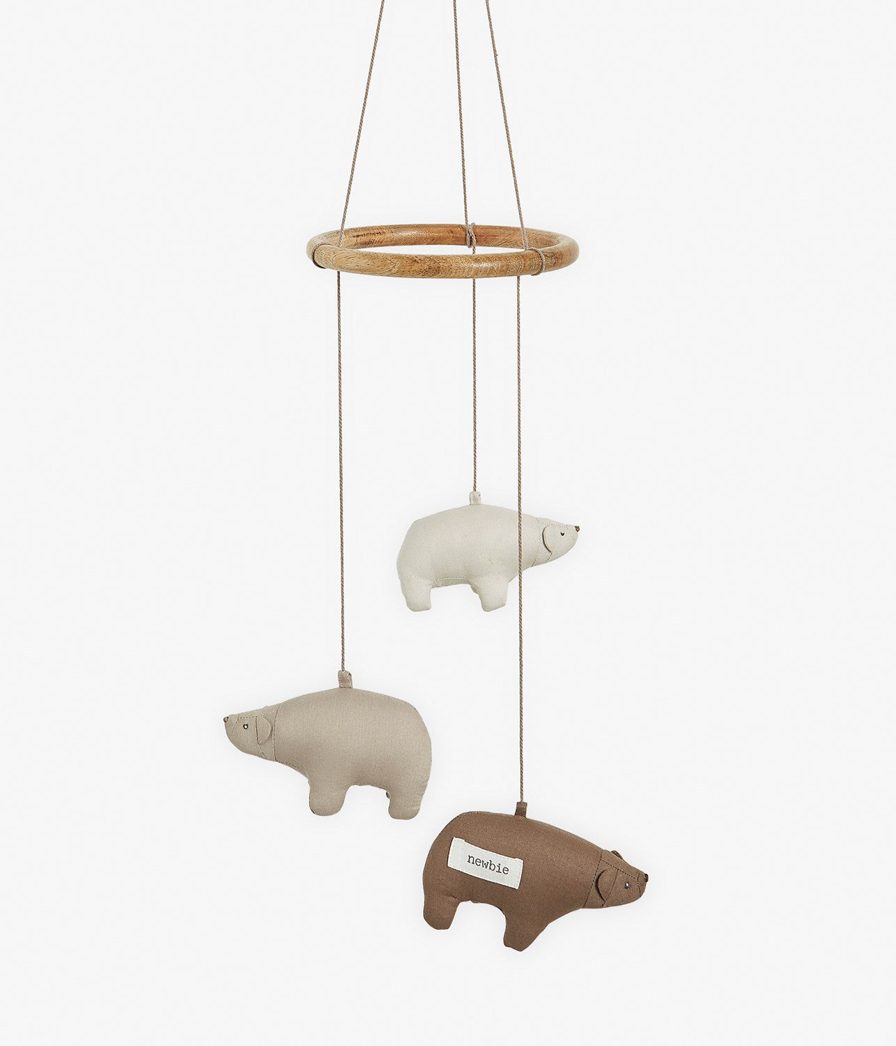 Bear hanging mobile