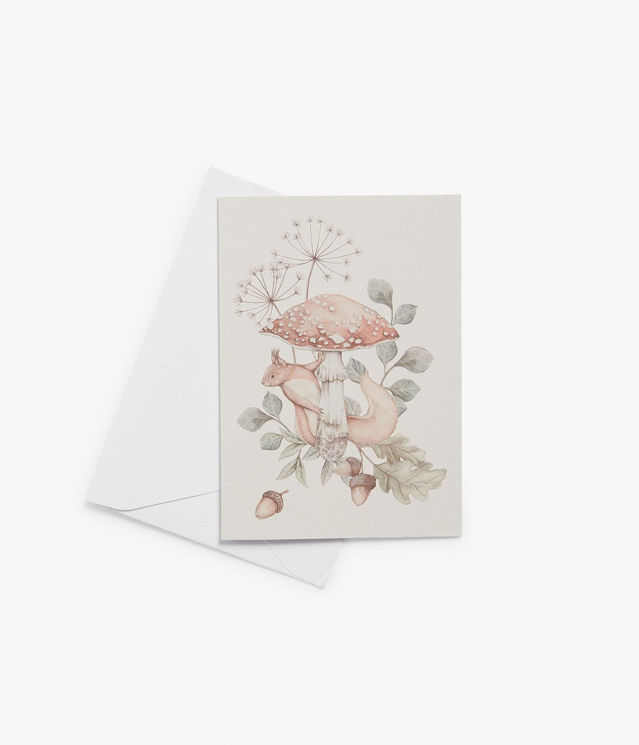 Gift card squirrels & mushrooms
