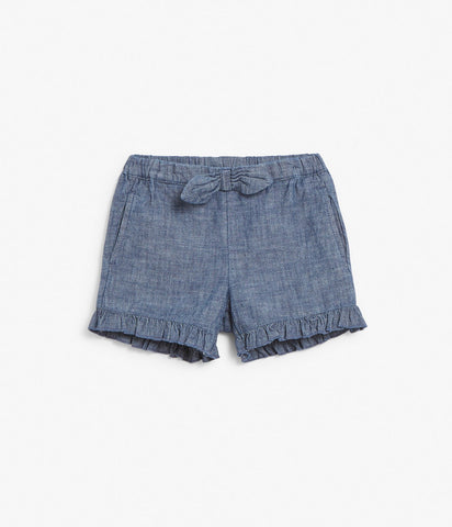 Kids shorts with ruffles