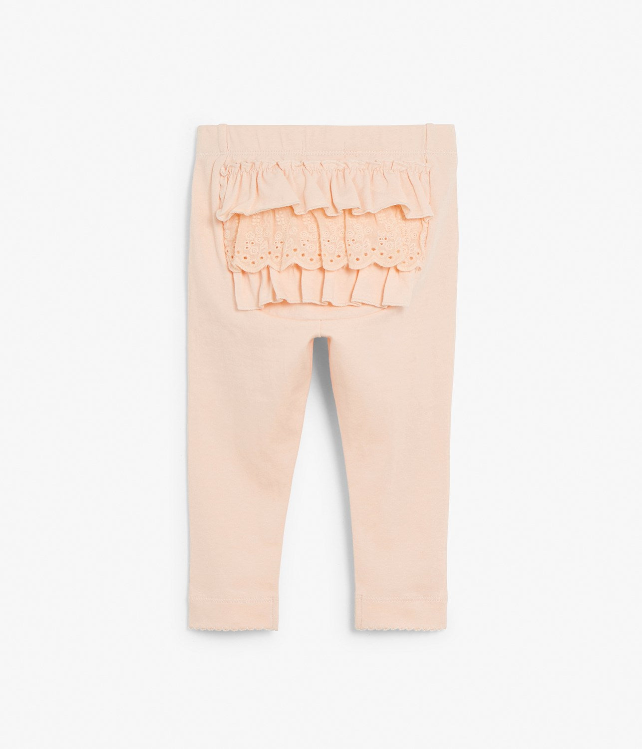 Baby leggings with frills