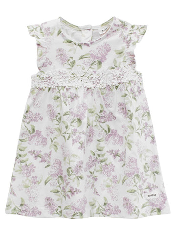 Baby floral pattern dress