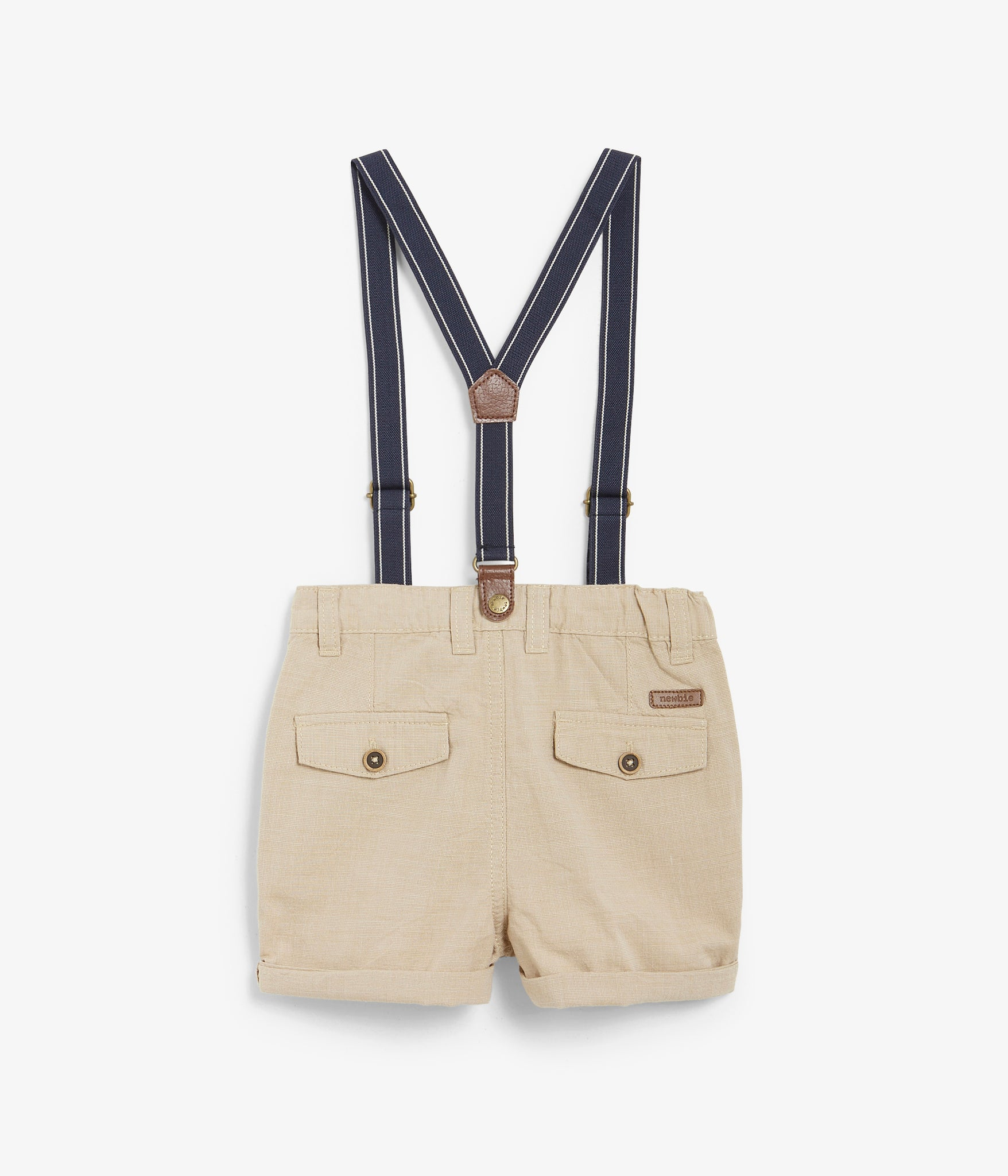 Kids shorts with braces