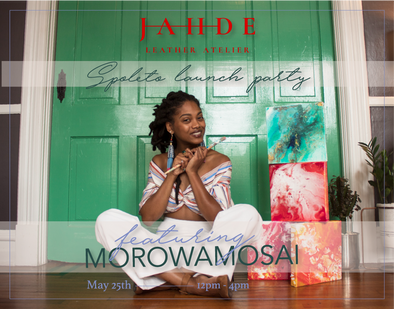 Meet our Spoleto Artist in Residence, MorowaMosai