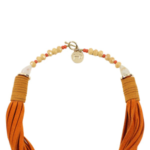 Jahde Leather Laurens Necklace