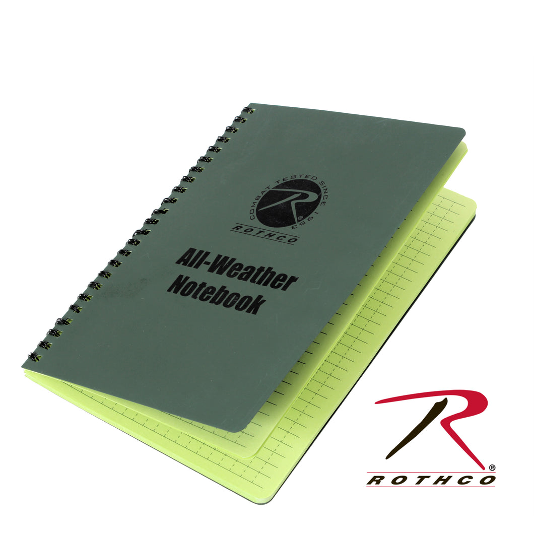 ROTHCO 6X8 ALL WEATHR NOTEBOOK - 0463