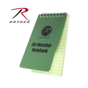 ROTHCO 3X5 ALL WEATHR NOTEBOOK - 0470