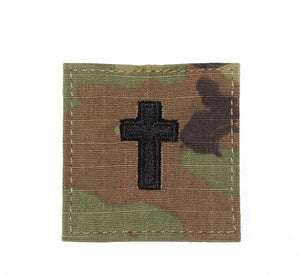 CHAPLAIN CROSS W/VELCRO OCP - 10017