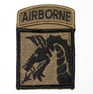 PATCH 18TH ABN CORPS W/ABN OCP - 2220B