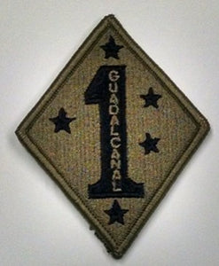 PATCH 1ST MARINE DIVISION OCP - 10136