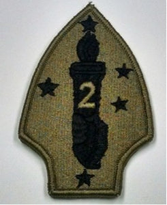 PATCH 2ND MARINE DIVISION OCP - 10137