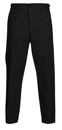 BDU PANT BLK 100% COTTON - 1523