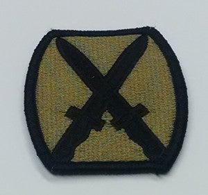 PATCH 10TH MOUNTAIN OCP - 2216B