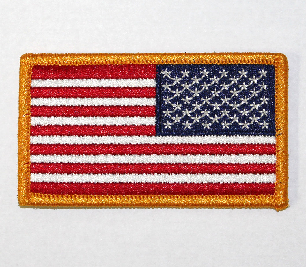 PATCH US FLAG REVERSED COLOR - 2264