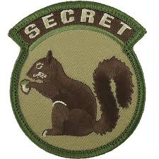 NOV PATCH SECRET SQUIRREL M/C - 3005