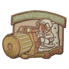 NOV PATCH SPACE SHUTTLE M/C - 3007
