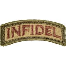 NOV PATCH INFIDEL M/C - 3013